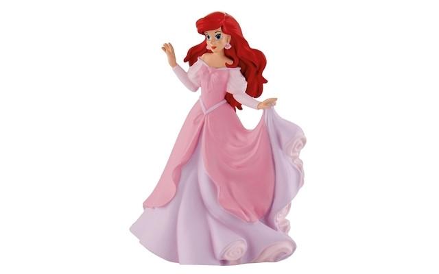 The Little Mermaid - Ariel in pink dress (9.5 cm)