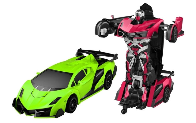 R/C 1/16 Justice Fighter Autobots Transforming Car