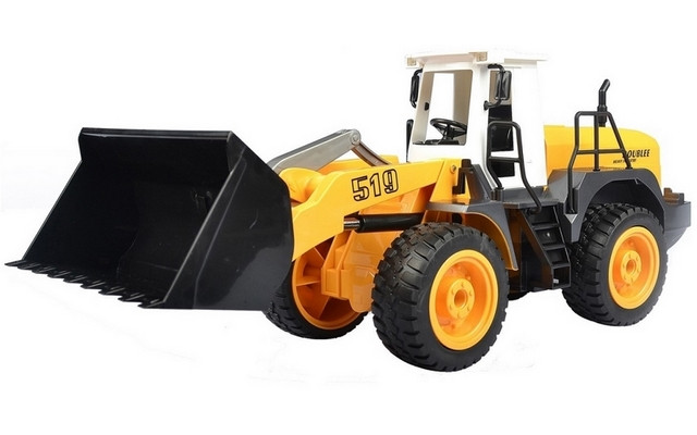 1/20 R/C Wheel Loader with Battery & USB Charger