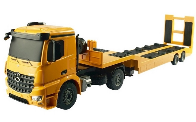 1/20 R/C Mercedes-Benz Arocs & Flatbed Trailer - With Battery & USB Charger