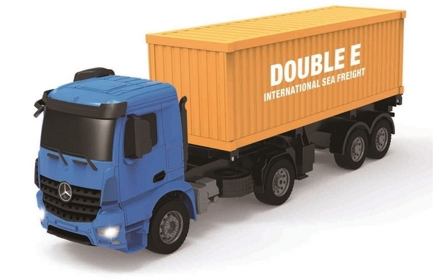 1/20 R/C Mercedes-Benz Arocs Container Truck withBattery & USB Charger