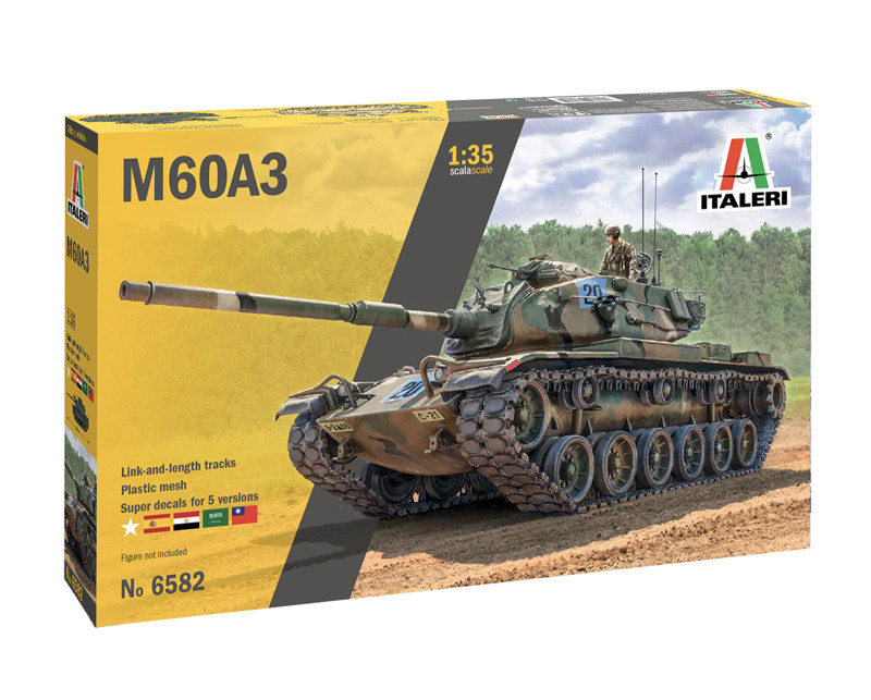 1/35 M60A3 MBT - Super Decal Sheet Included