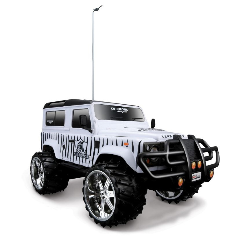 1/16 R/C Land Rover Defender with Battery & USB Charger