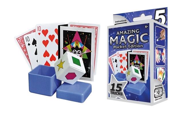 Amazing Magic Pocket Set #5 with 15 Tricks