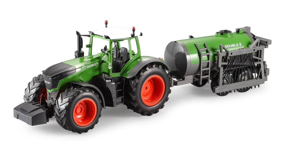 1/16 R/C Tractor w/Sprinkler Barrel - with Battery & USB Charger