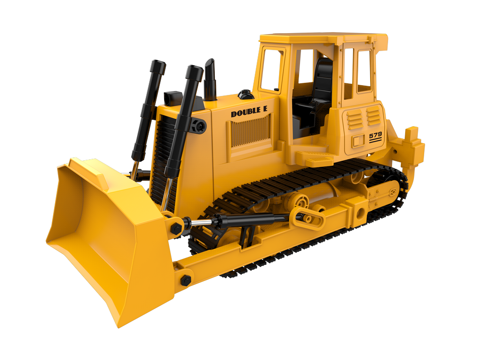 1/20 R/C Bulldozer with Battery & USB Charger