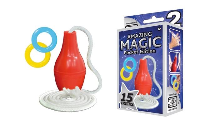 Amazing Magic Pocket Set #2 with 15 Tricks