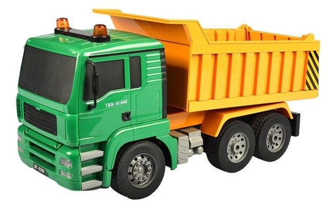 1/20 R/C Dump Truck with Battery & USB Charger