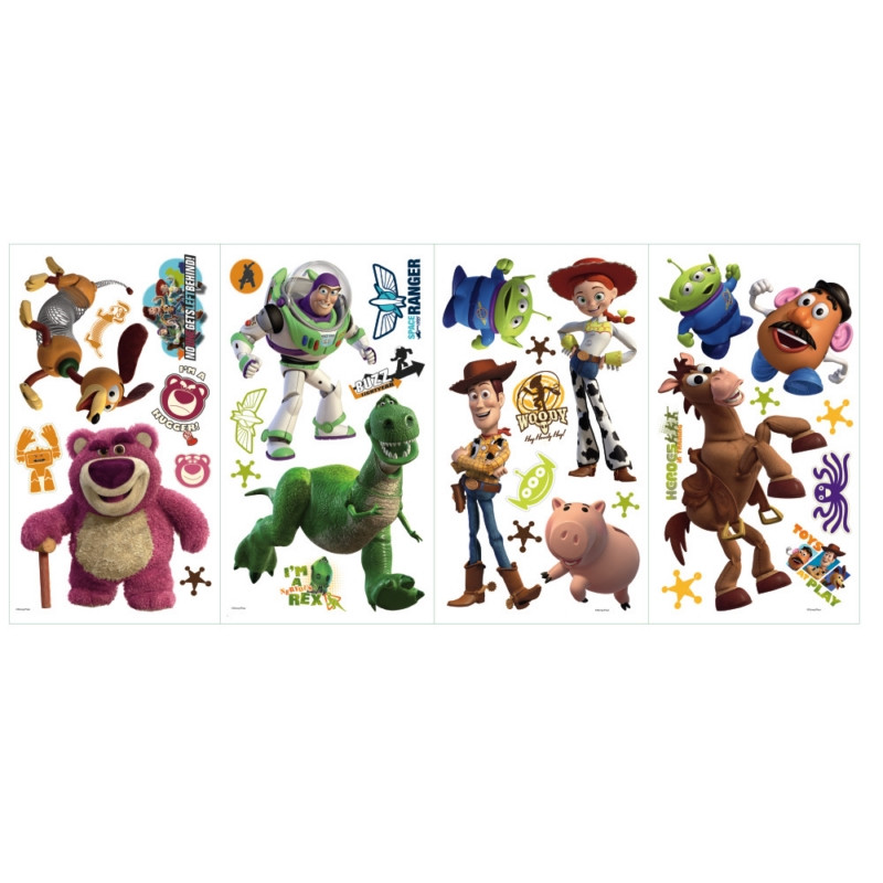 Toy Story 3 Glow in Dark Peel & Stick Wall Decals