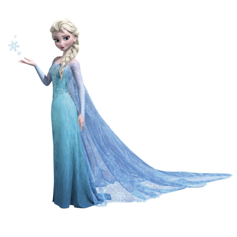 Frozen Elsa Peel & Stick Giant Wall Decals