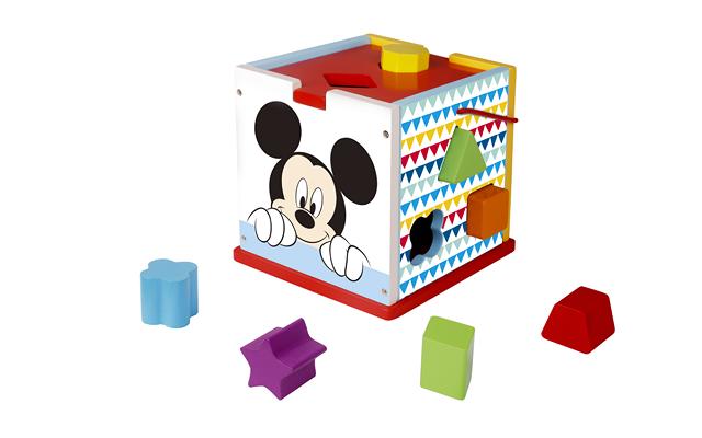 Disney Wooden Shape Sorter - Mickey