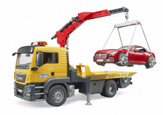 MAN TGS Tow Truck with Roadster (Light & Sound Module)