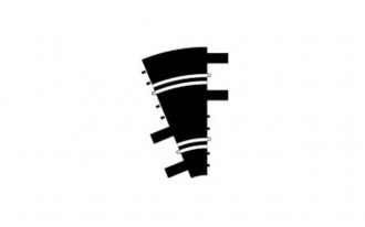 1/2 Inner Curve - Diameter 48.3cm 22.5° (2)