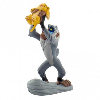 Rafiki with Baby Simba - 9.8cm Tall