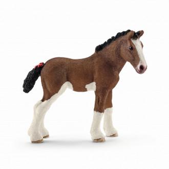 Farm World - Clydesdale foal (7.9cm Tall)