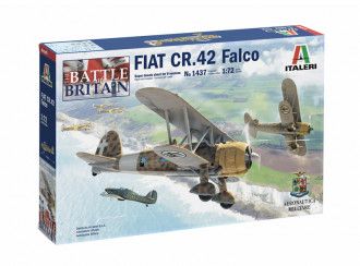 1/72 Fiat CR.42 Falco - BoB 80th Anniversary - Super Decal Sheet Included