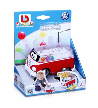 Poppin' Bus - VW Samba Bus (2 Assorted Colours)