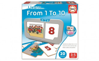 I Learn...Educational Collection - From 1 to 10 (24+ Months)