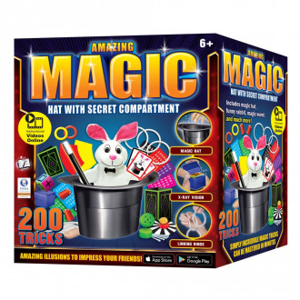 Amazing Magic Hat - 200 Tricks