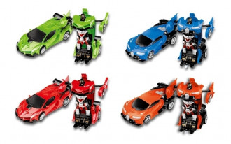 R/C 1/20 Transforming Car (4 assorted)