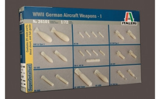 1/72 World WarII German Aircraft Weapons I