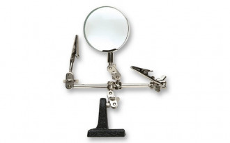 Magnifying Glass with Adjustable Clips