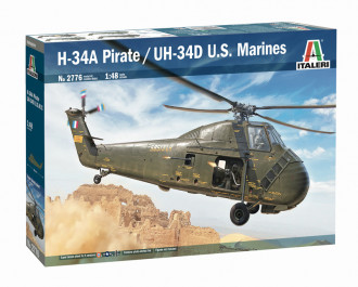 """1/48 H-34 A """"Pirate"""" / UH-34D US Marines - Super Decal Sheet Included"""