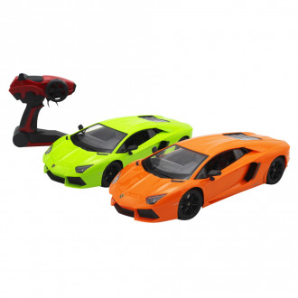 1/14 R/C Lamborghini Aventador LP700-4 with 6V Battery & USB Charger (2 Assorted)