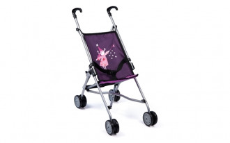 Buggy Doll's Pram (Purple/Pink)