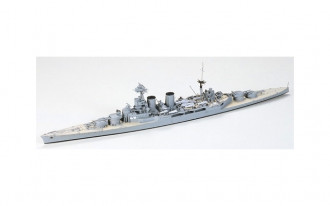 1/700 British Battle Cruiser Hood and E Class Destroyer (Battle of the Denmark Strait)