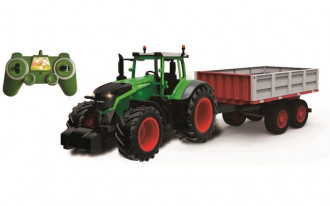 1/16 R/C Farm Tractor & Trailer With Battery & USB Charger