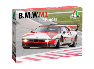 1/24 BMW M1 Procar - Super Decal Sheet Included