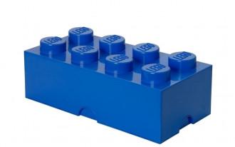 LEGO Storage Brick 8 Knob (50cm) - Blue