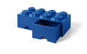 LEGO Brick Drawer 8 Knob (50cm) - Blue