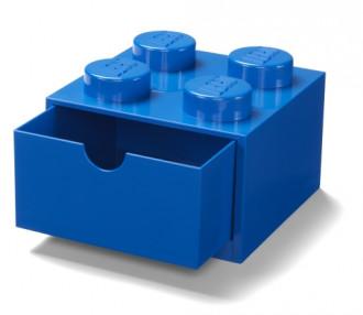 LEGO Desk Drawer 4 (16cm) - Blue