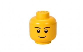 LEGO Storage Head Small (16cm) - Boy