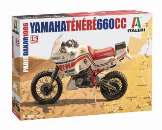 1/9 Yamaha Tenere 660cc Paris Dakar 1986