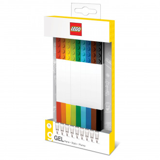 LEGO Gel Pens (9 pieces)