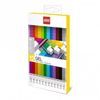 LEGO Gel Pens (12 pieces)