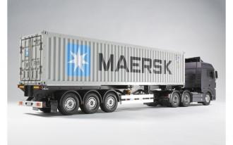 R/C 1/14 40ft Container Semi-Trailer