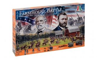 1/72 Civil War Farmhouse Battle