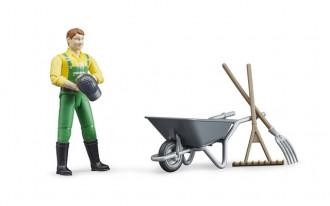 Farmer Figure Set