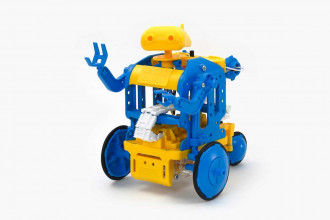 Chain-Program Robot (Blue & Yellow)