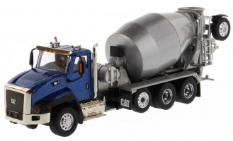 1/50 CAT CT660 Day Cab Tractor with Metal Cement Mixer