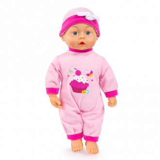 First Words Baby Doll (38cm) Pink - Assorted