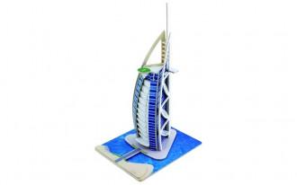 3D Wooden Puzzle - Burj Al Arab