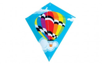 Diamond Kite Single Line (Balloon) 60x70cm