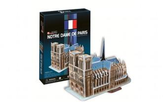 Notre Dame Paris (France) 40pcs 3D Puzzle