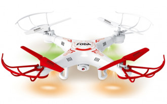 D15C 2.4 GHz 4-Channel Quadcopter w/6 Axis Gyro - With Camera
