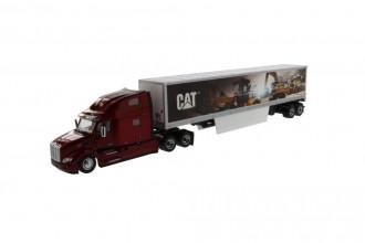 1/50 CAT Peterbilt 579 Day Cab with CAT Mural Trailer